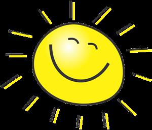 lachend zonnetje